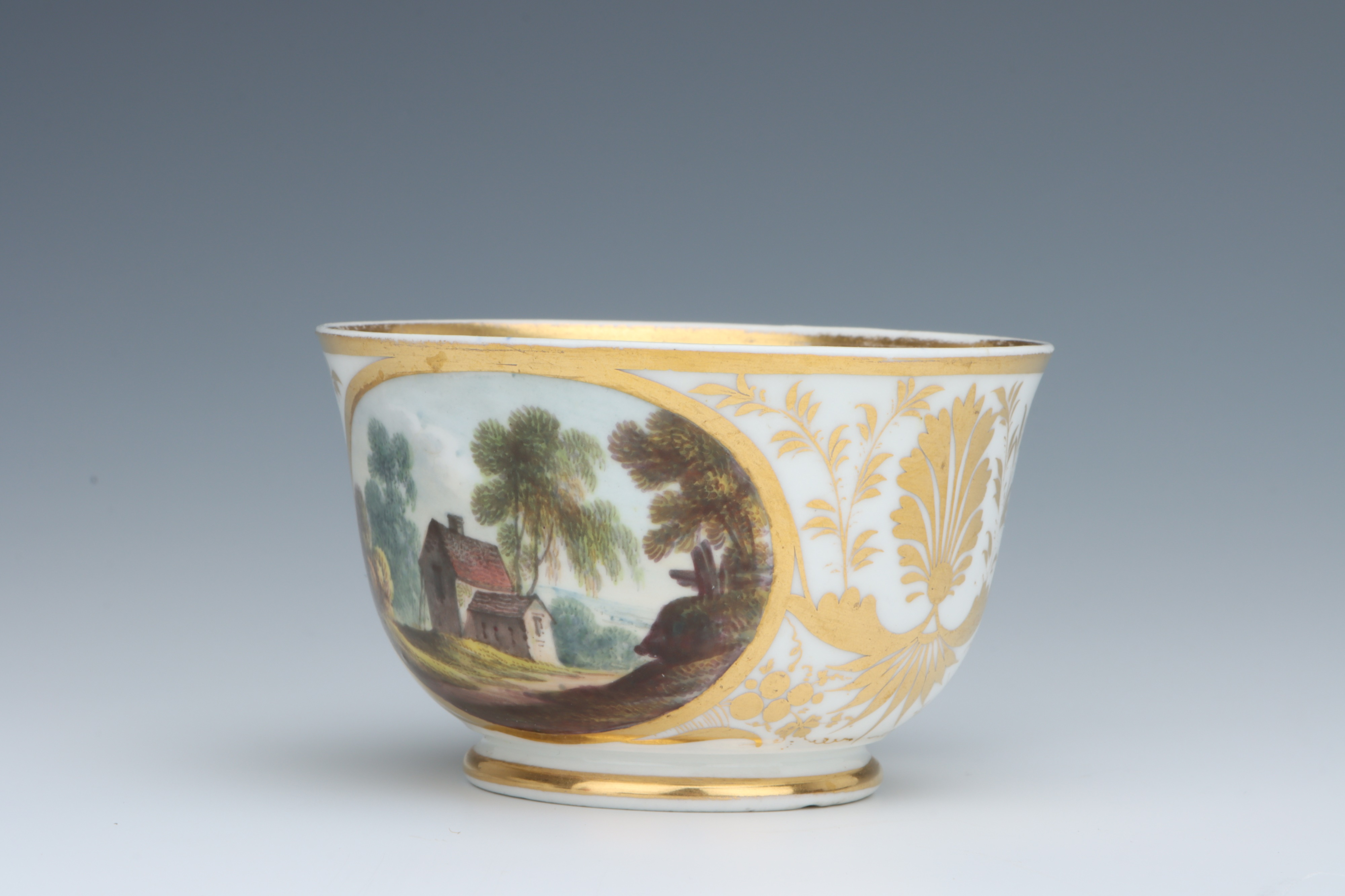 A Derby Cup & Saucer, - Image 2 of 5