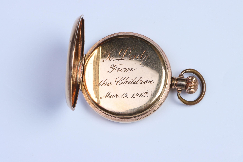 A Half-Hunter Pocket Watch, - Image 4 of 5