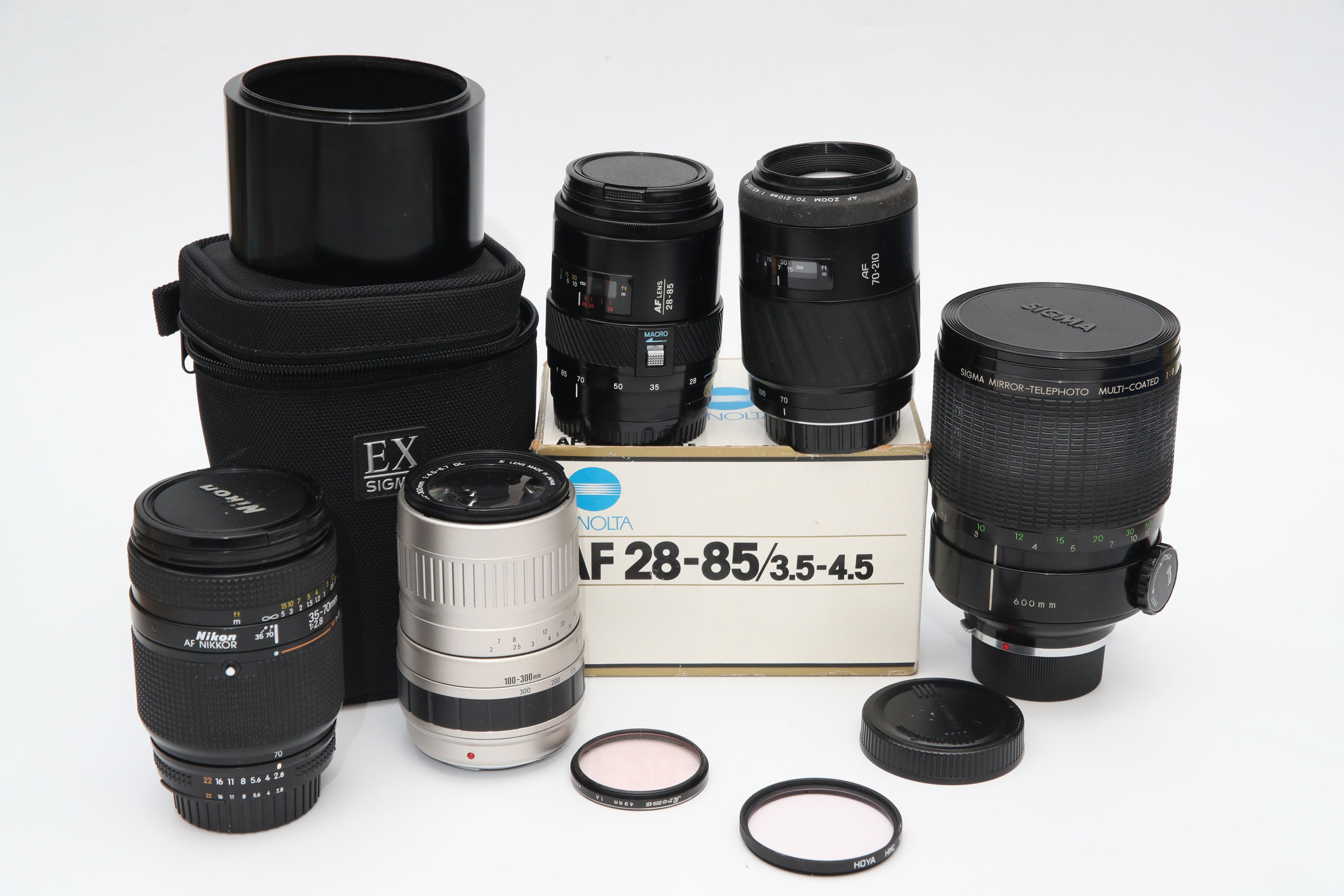 A Small Selection of Various Lenses,