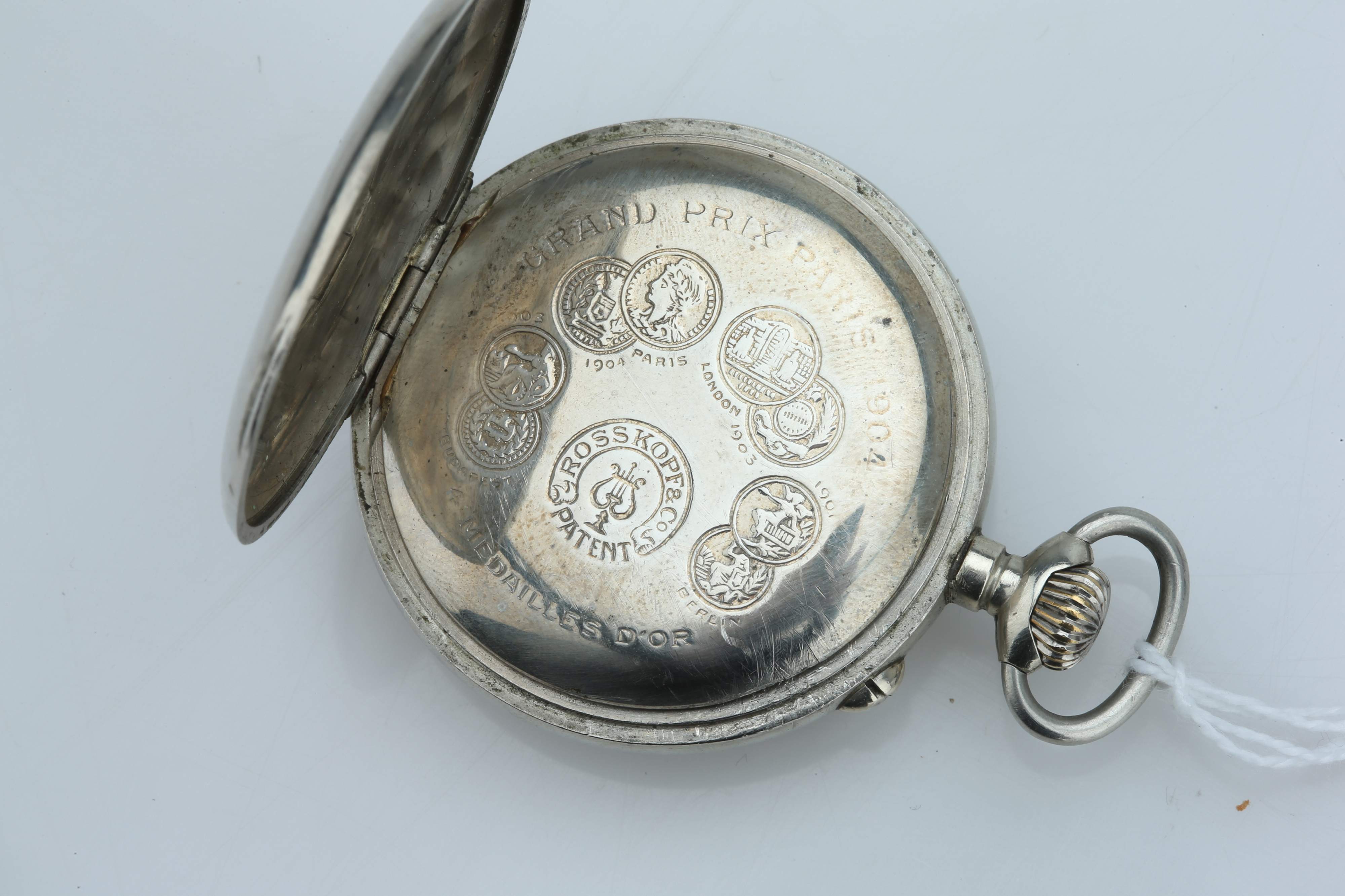 A Swiss Pocket Watch, - Image 2 of 4