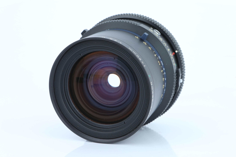 A Mamiya-Sekor Z W f/4.5 50mm Lens,