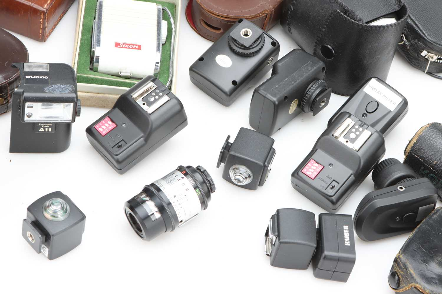 A Selection of Various Light Meters & Flash Equipment, - Image 2 of 2