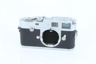 A Leica M2 Rangefinder Body,