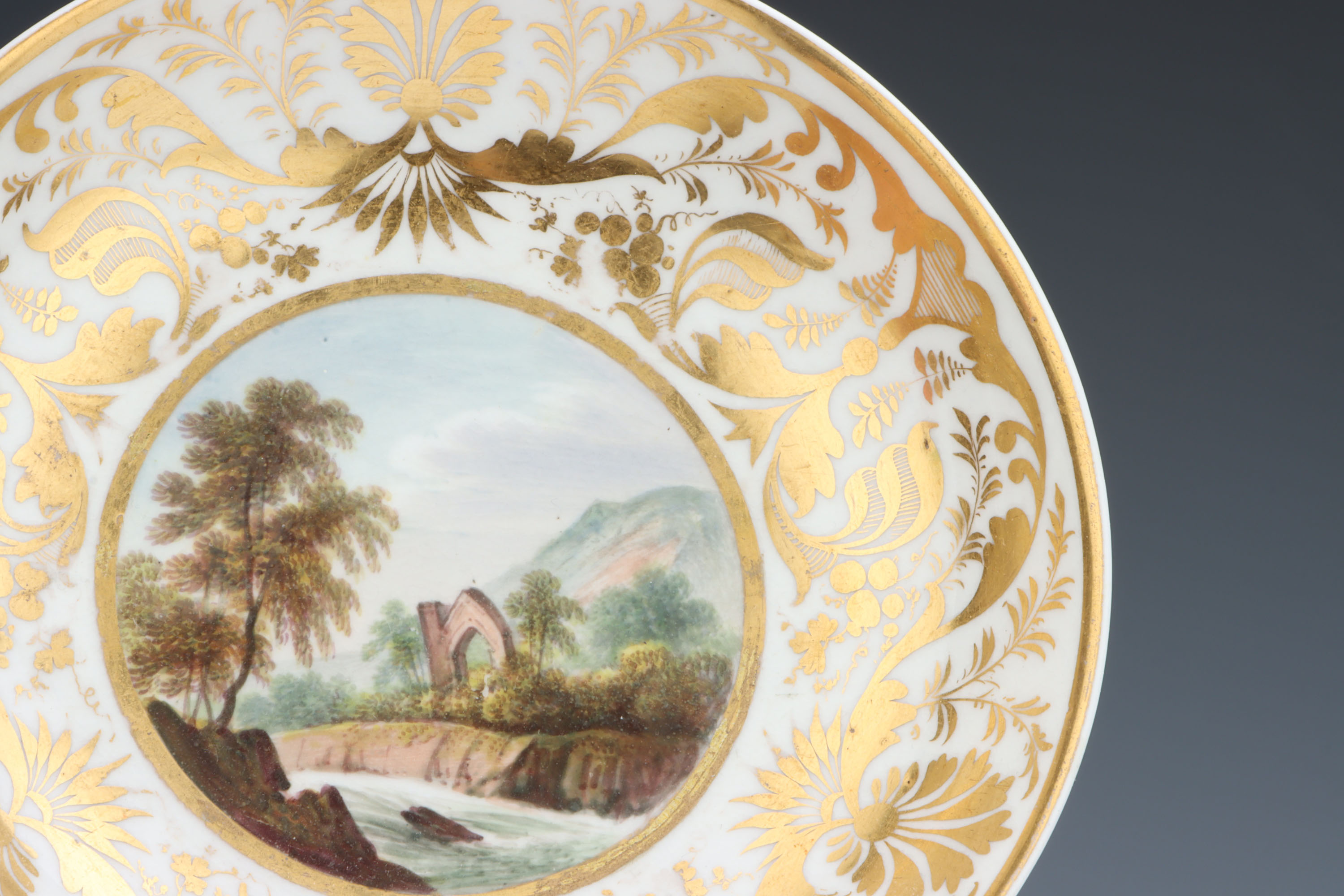 A Derby Cup & Saucer, - Image 5 of 5