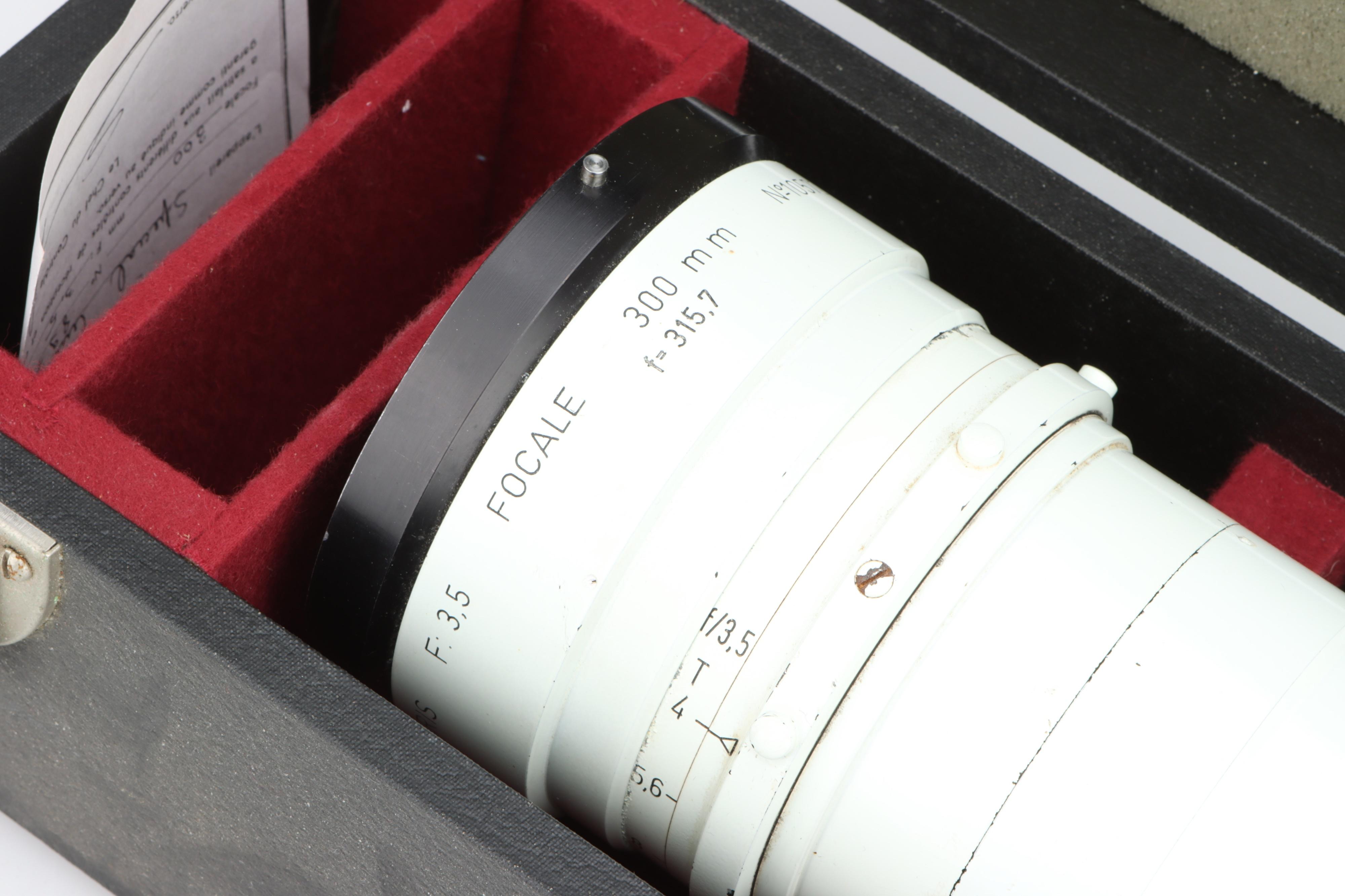 A Kinoptik 300mm Cine Lens, - Image 2 of 3