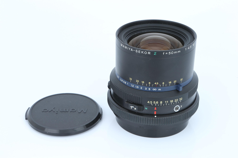 A Mamiya-Sekor Z W f/4.5 50mm Lens, - Image 3 of 3