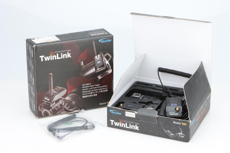 Two TwinLInk Wireless Flash Triggers,