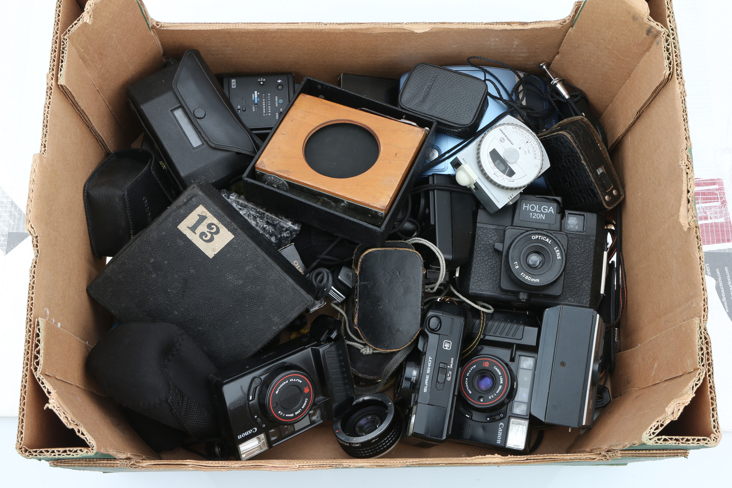 A Selection of Various Cameras,