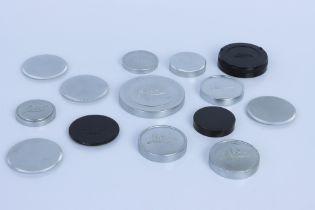 A Selection of Leica Lens & Body Caps,