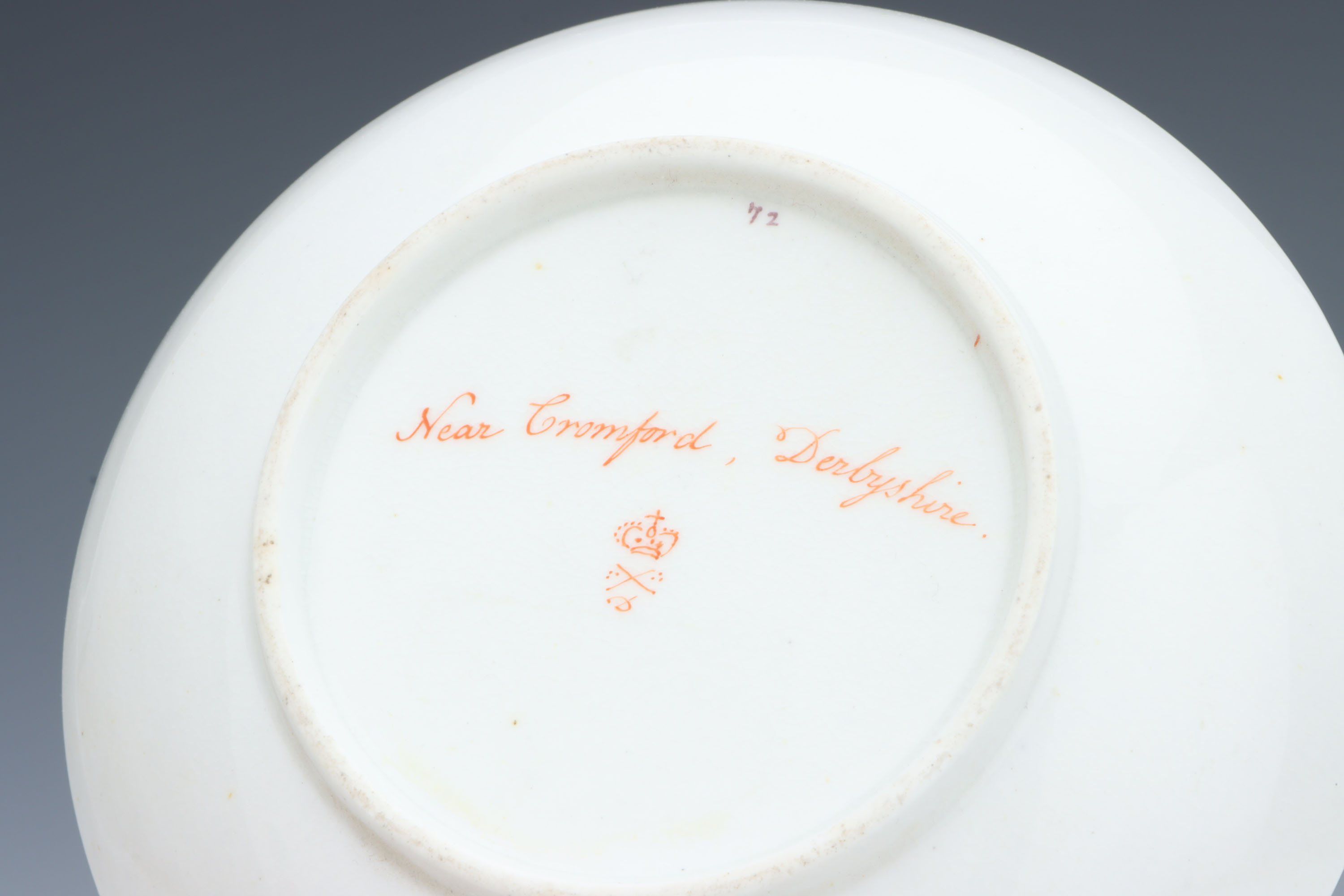 A Derby Cup & Saucer, - Image 4 of 5