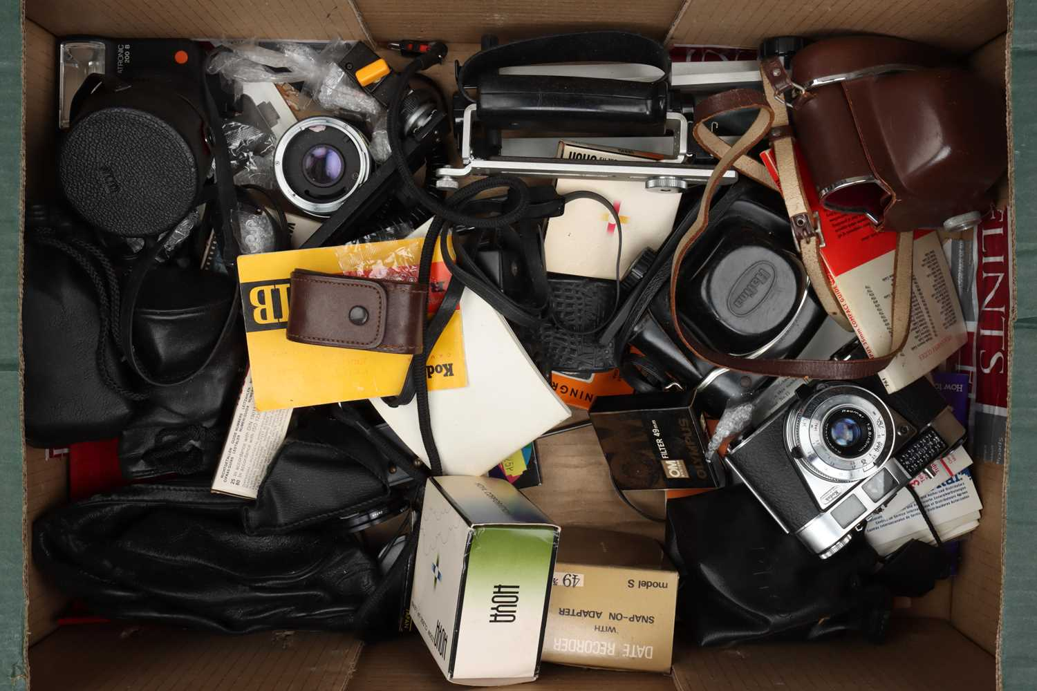 A Selection of Various Cameras & Accessories,