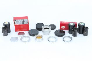 A Small Selection of Leica Accessories,