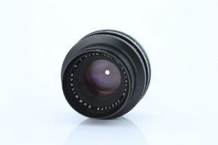 A Leitz Summicron-R f/2 50mm Lens,