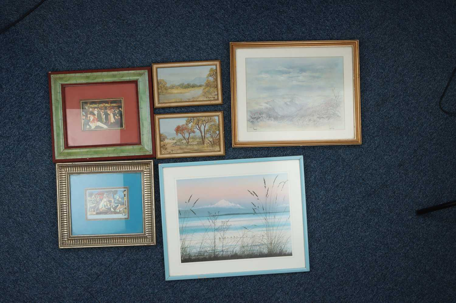 A Selection of Various Framed Prints,