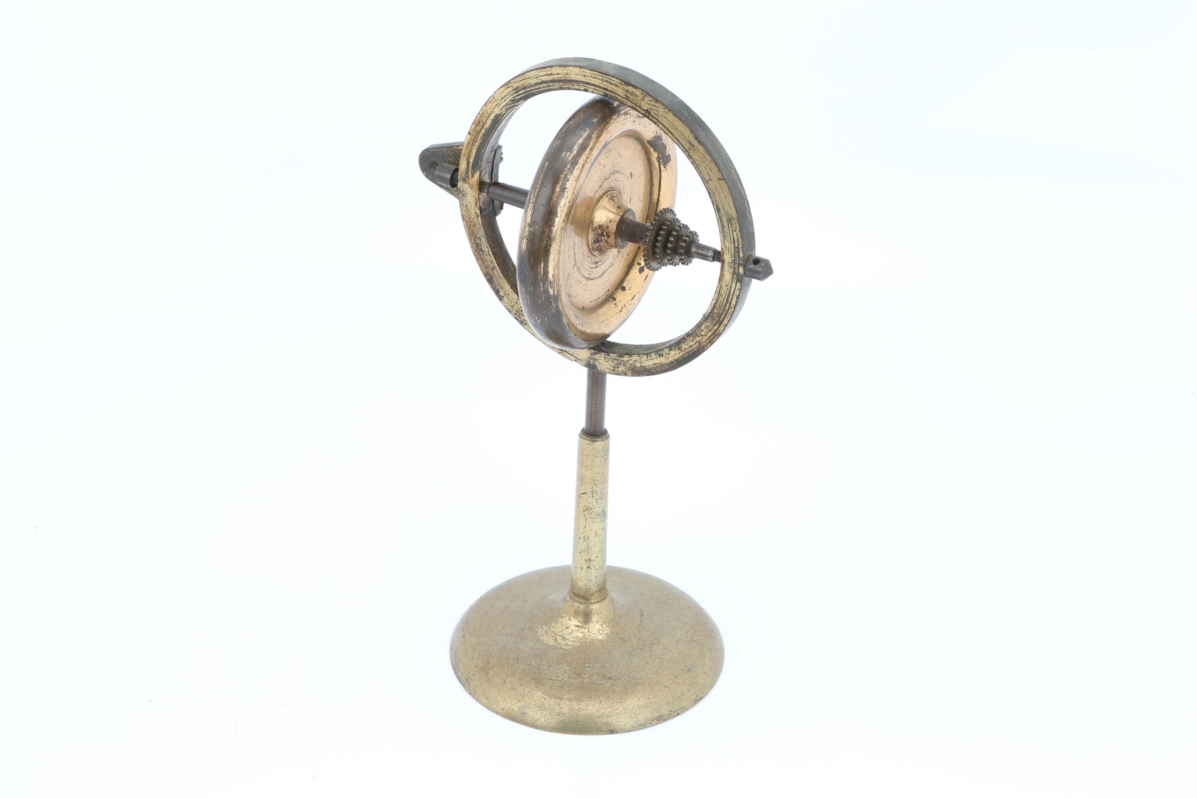 Brass Gyroscope, - Image 2 of 5
