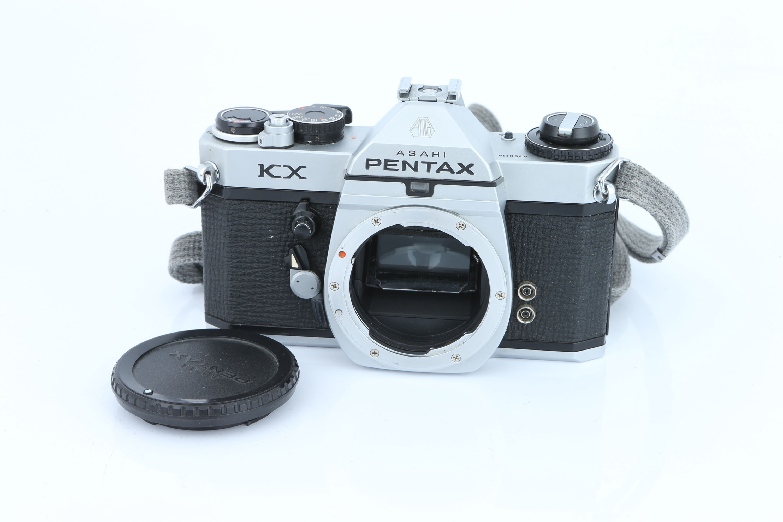 An Asahi Pentax KX Body,