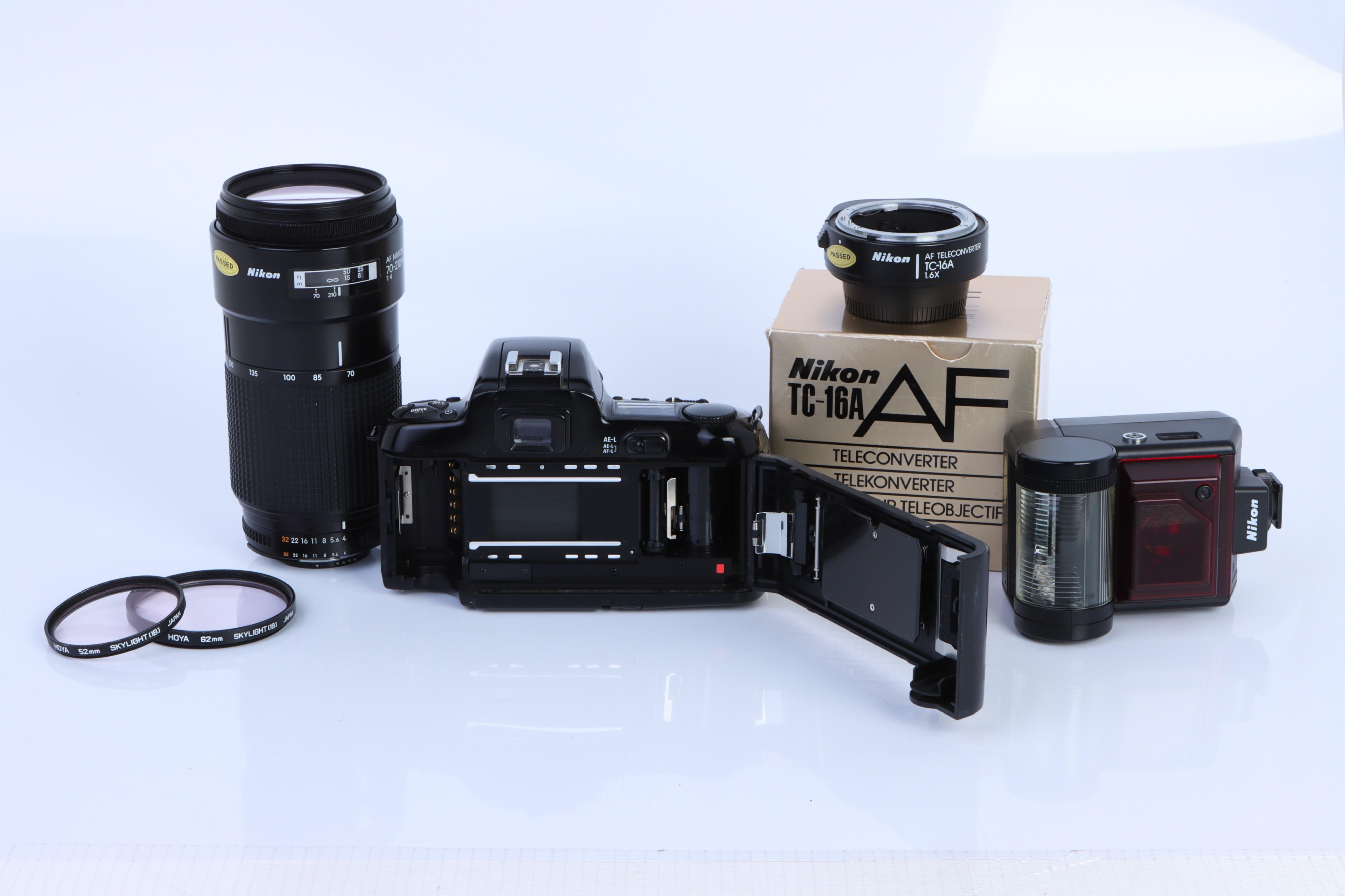 A Nikon F-601 SLR Camera, - Image 2 of 2