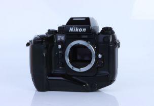 A Nikon F4s SLR Body,
