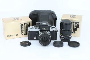 A Nikon F2 AS SLR Camera,