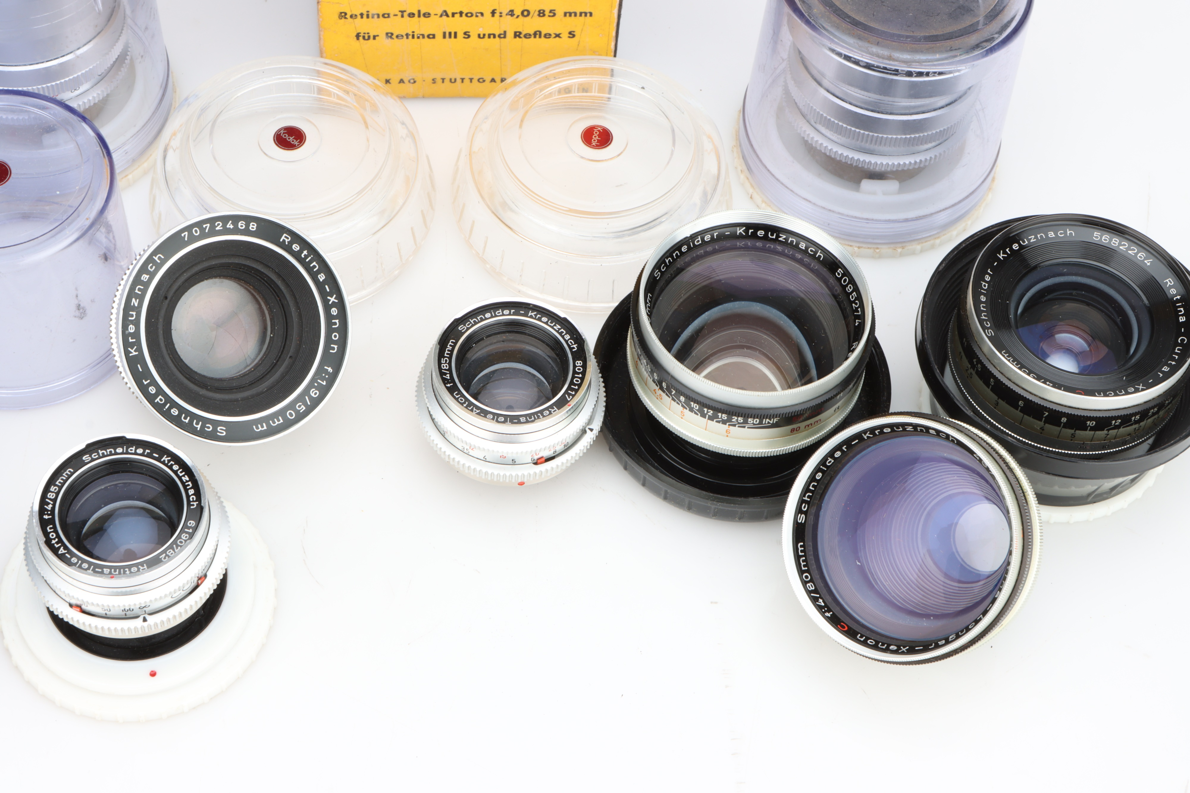 * A Selection of Various Lenses, - Image 2 of 2