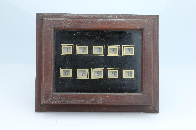 Butler/Servants Wall Mounted Bell Box,