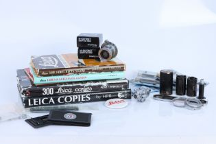 A Good Mixed Selection of Leica Accessories,