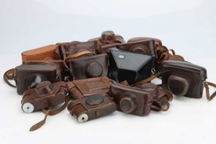 A Good Selection of Various Camera Cases,