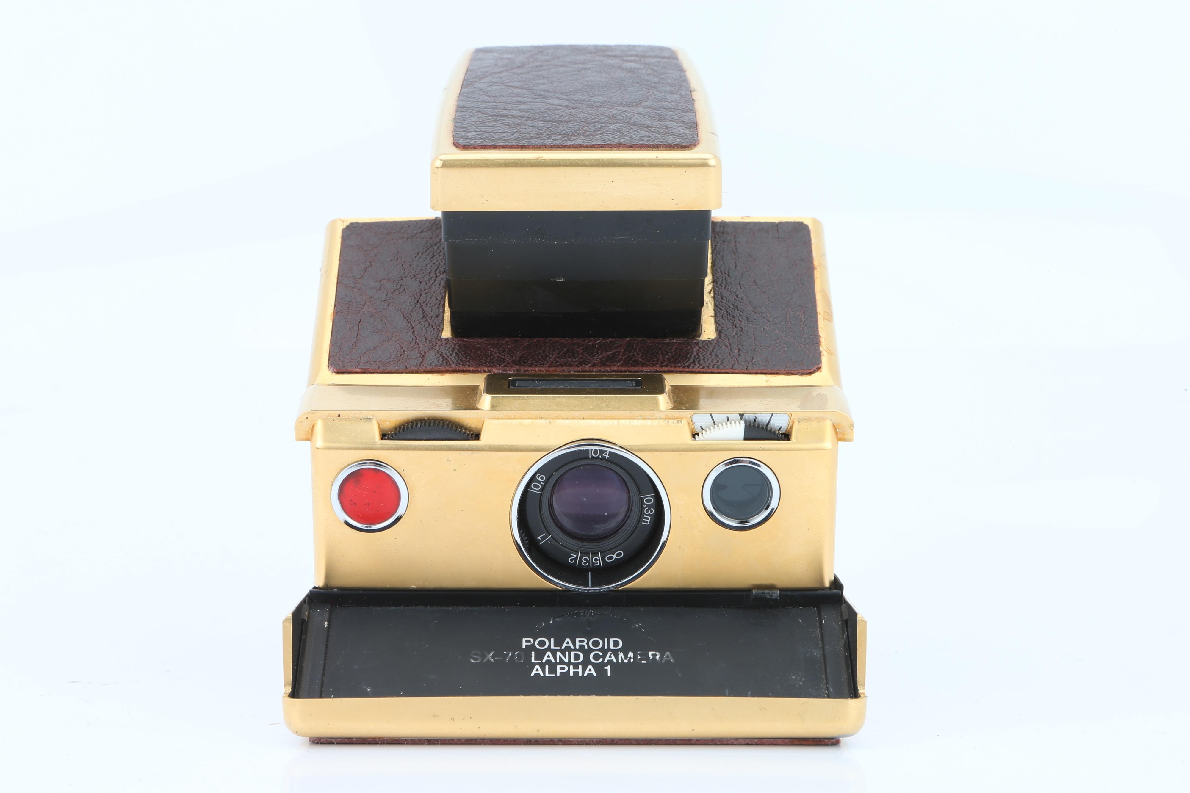 A Polaroid Land Camera SX-70 Alpha 1, - Image 2 of 8