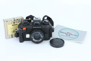 A Nikon Nikonos IV-A Underwater Camera,
