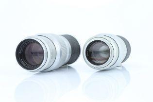 Two Leitz Hektor f/4.5 135mm Lenses,