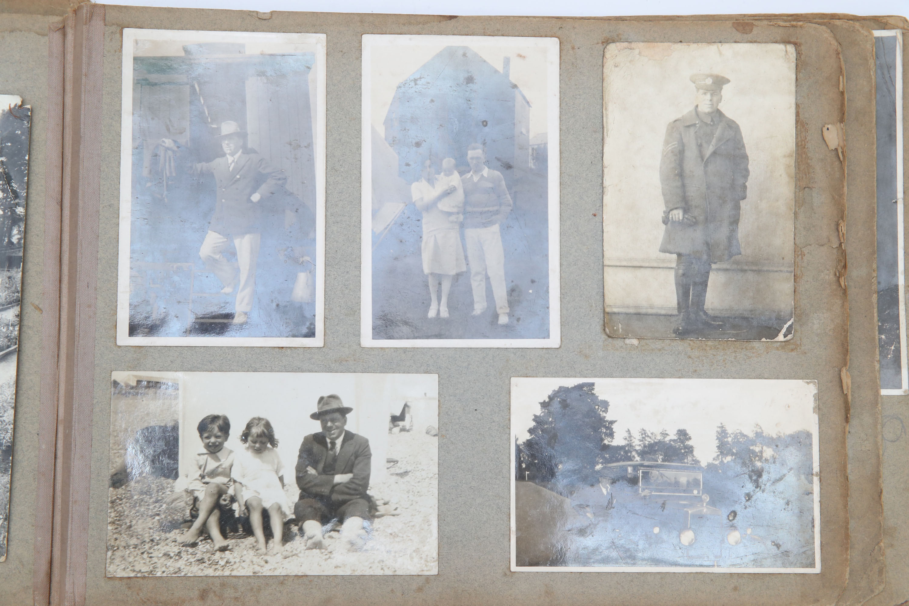 Inner Pages of a Family Photograph Album, - Image 4 of 4