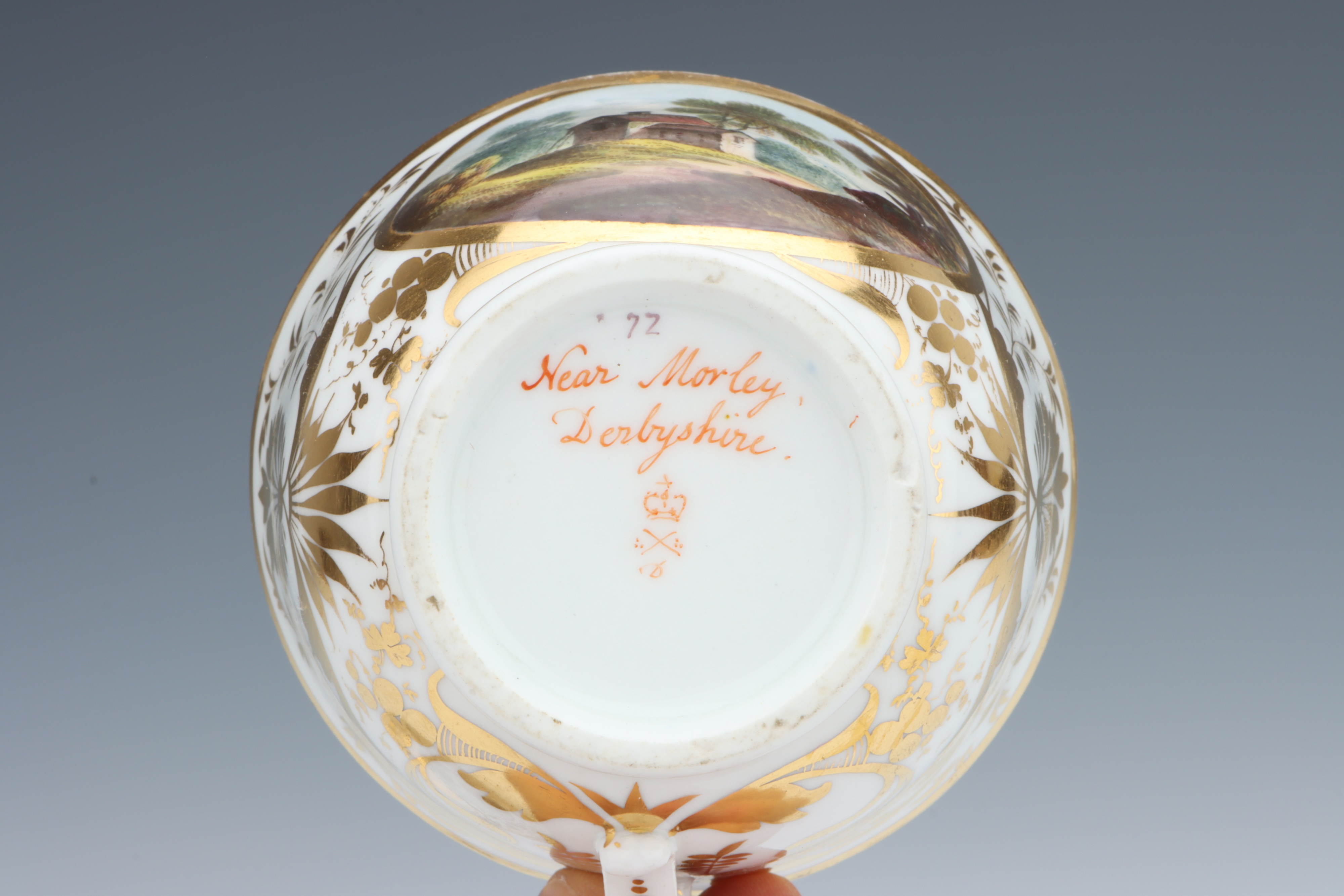 A Derby Cup & Saucer, - Image 3 of 5
