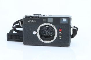 A Minolta CLE Rangefinder Body,