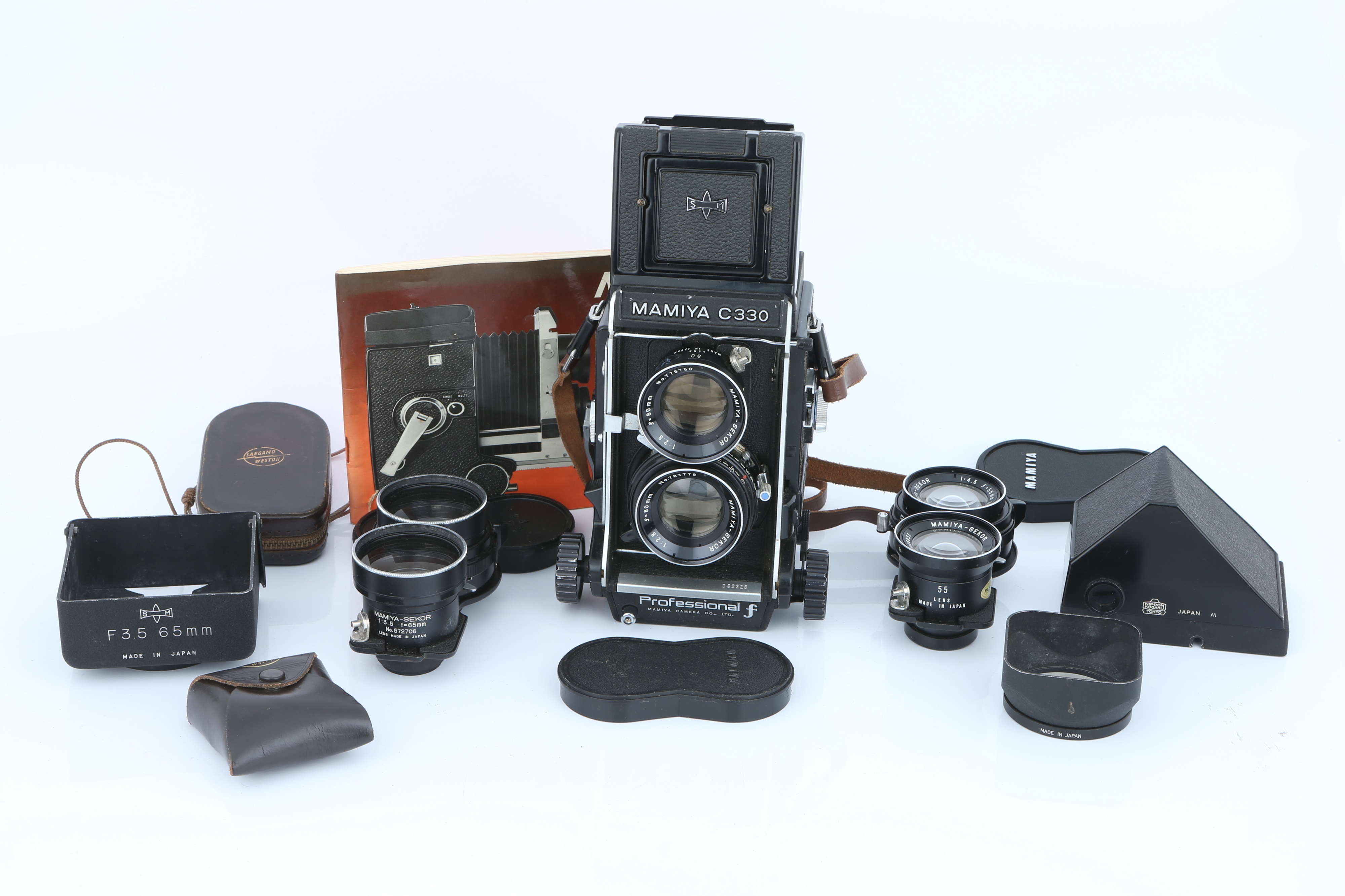 A Mamiya C330 Professional TLR Camera,