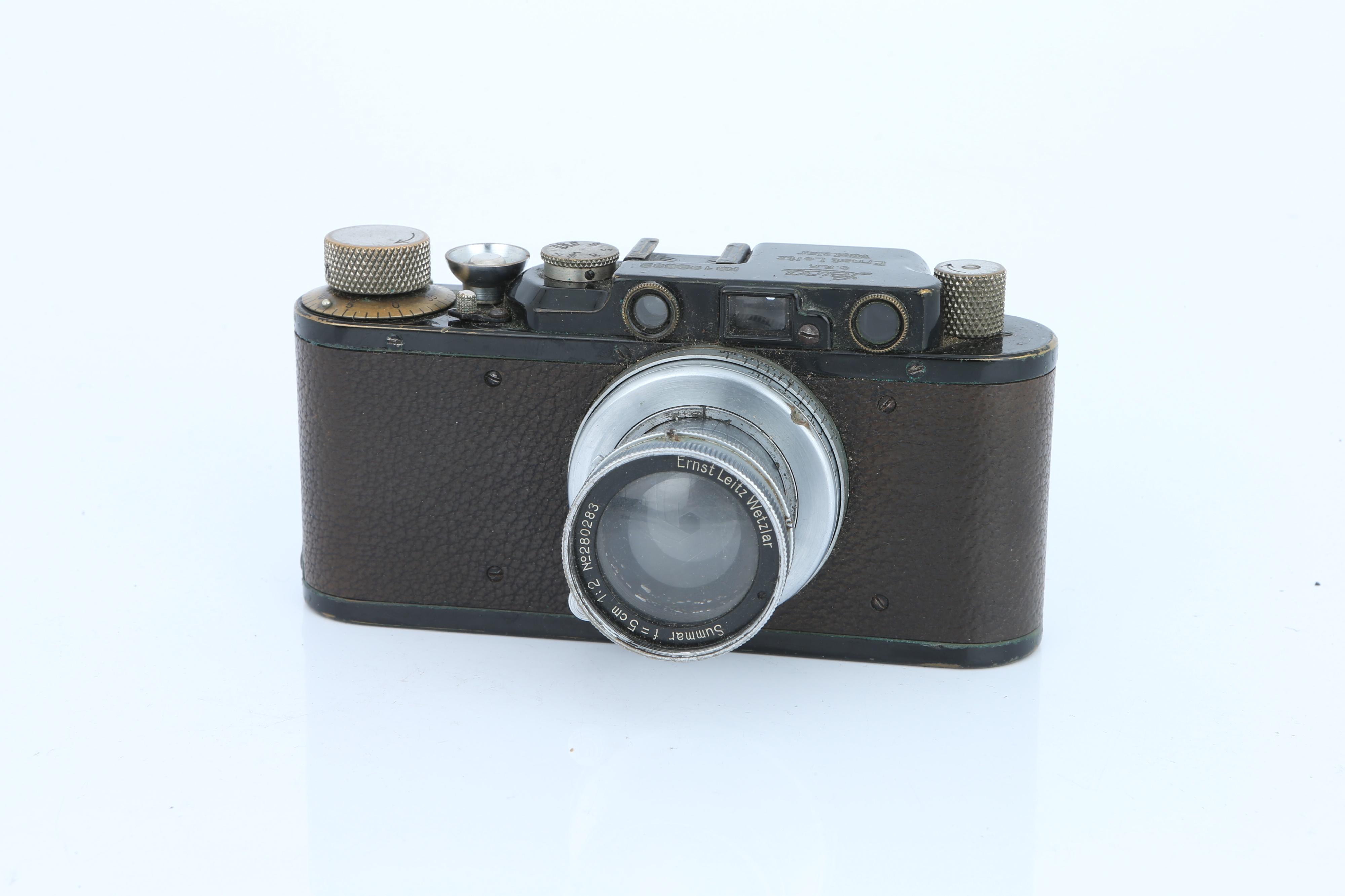 A Leica II Rangefinder Camera, - Image 2 of 3