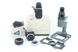 A Selection of Leica Visoflex Equipment,