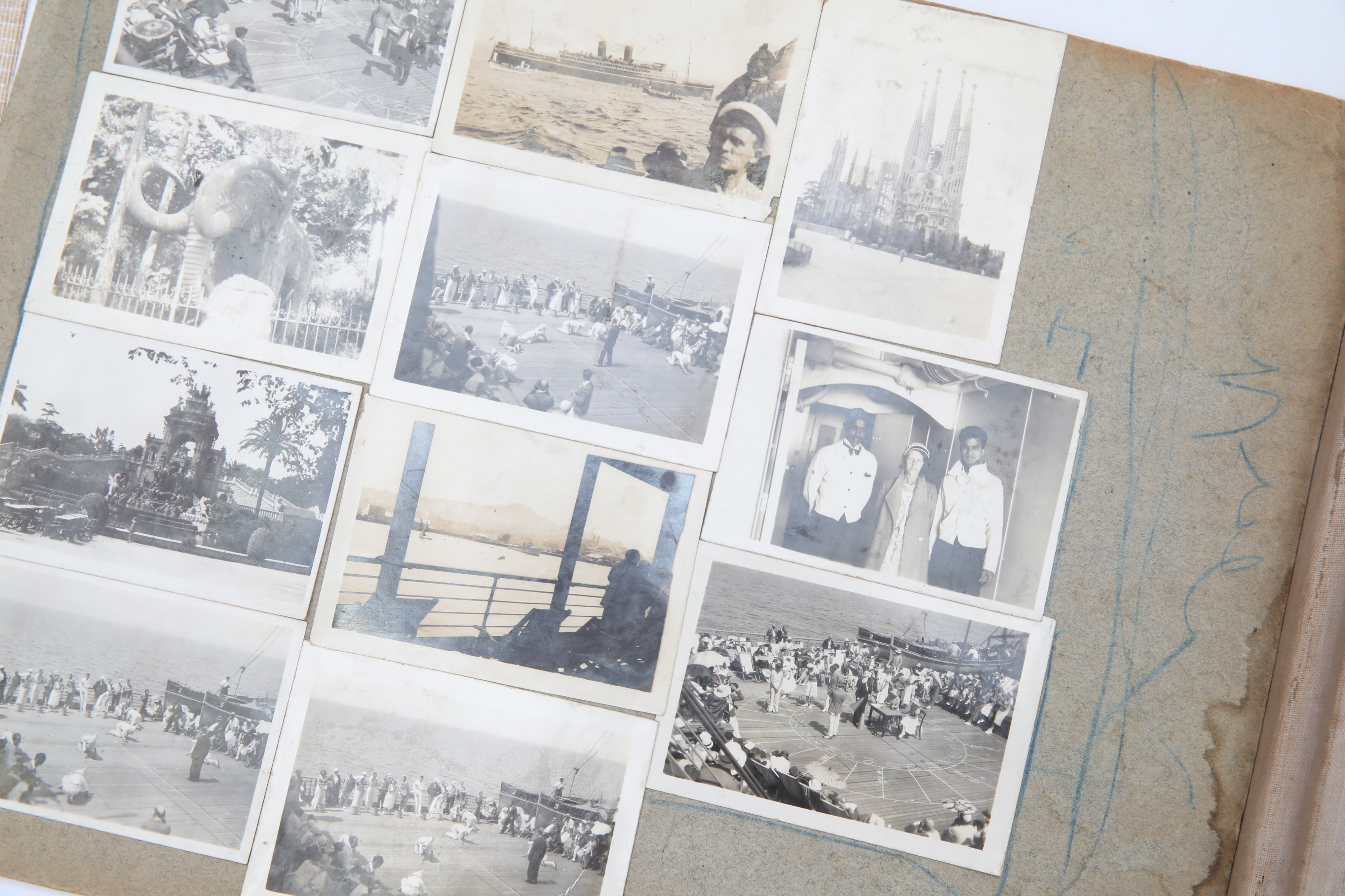 Inner Pages of a Family Photograph Album, - Image 2 of 4