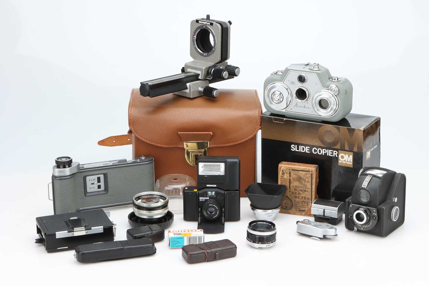 A Good Selection of Various Cameras & Accessories,