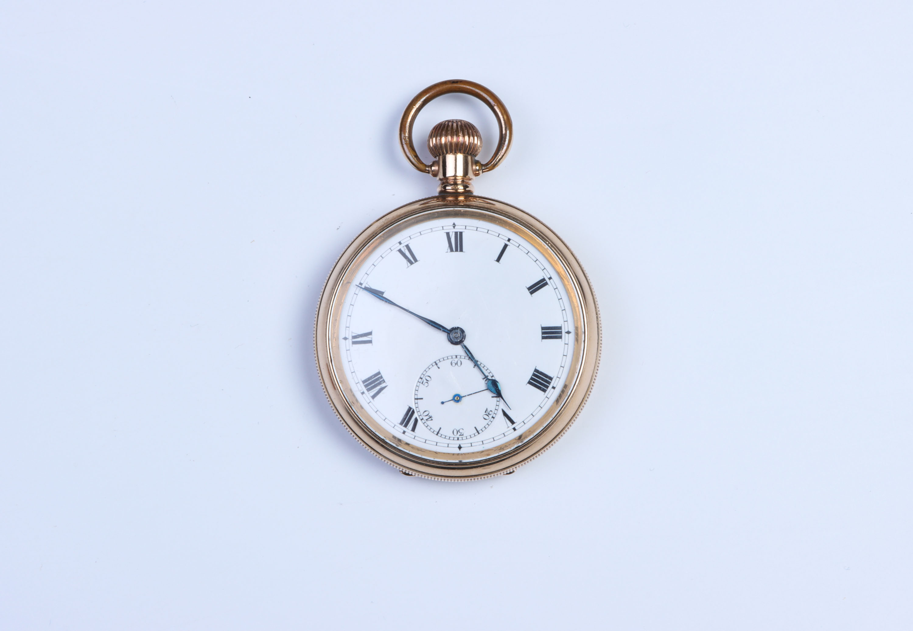 A Gold-Plated Pocket Watch,