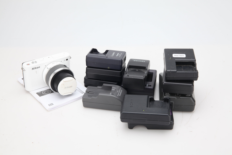 A Nikon J1 Digital Camera,