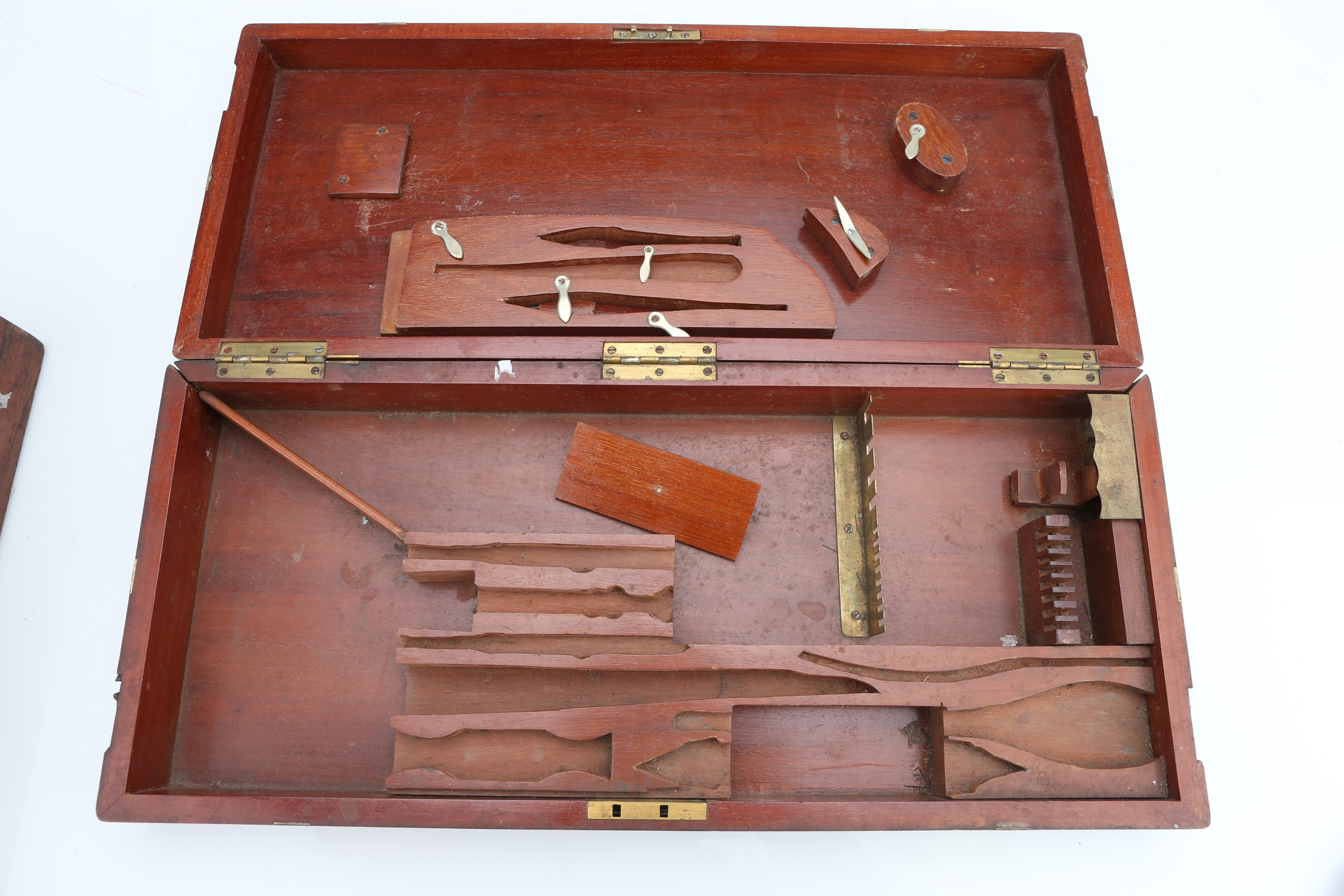 Antique Surgical Instrument Cases, - Image 2 of 5