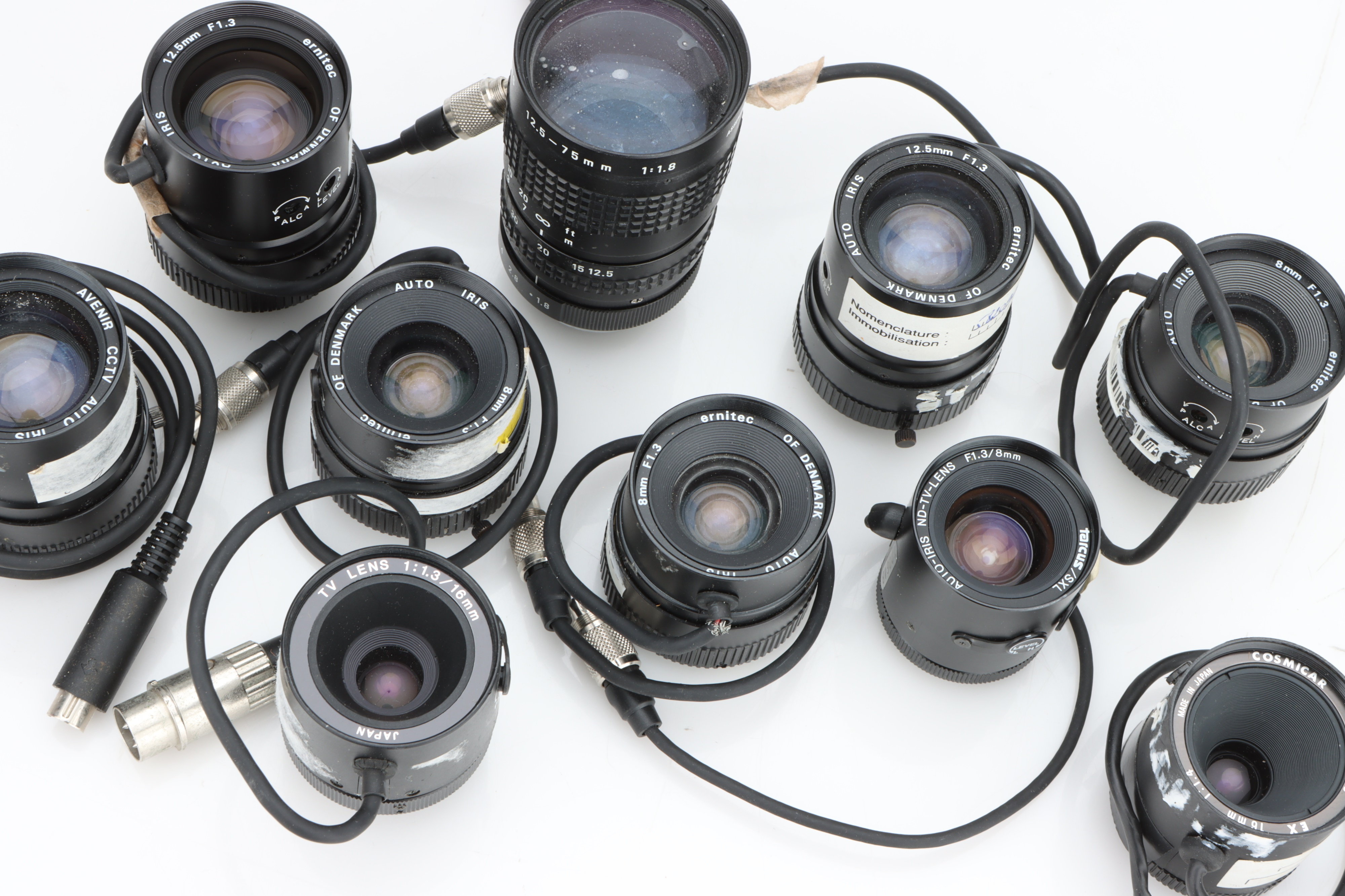 * A Small Selection of Various TV Lenses, - Image 2 of 2