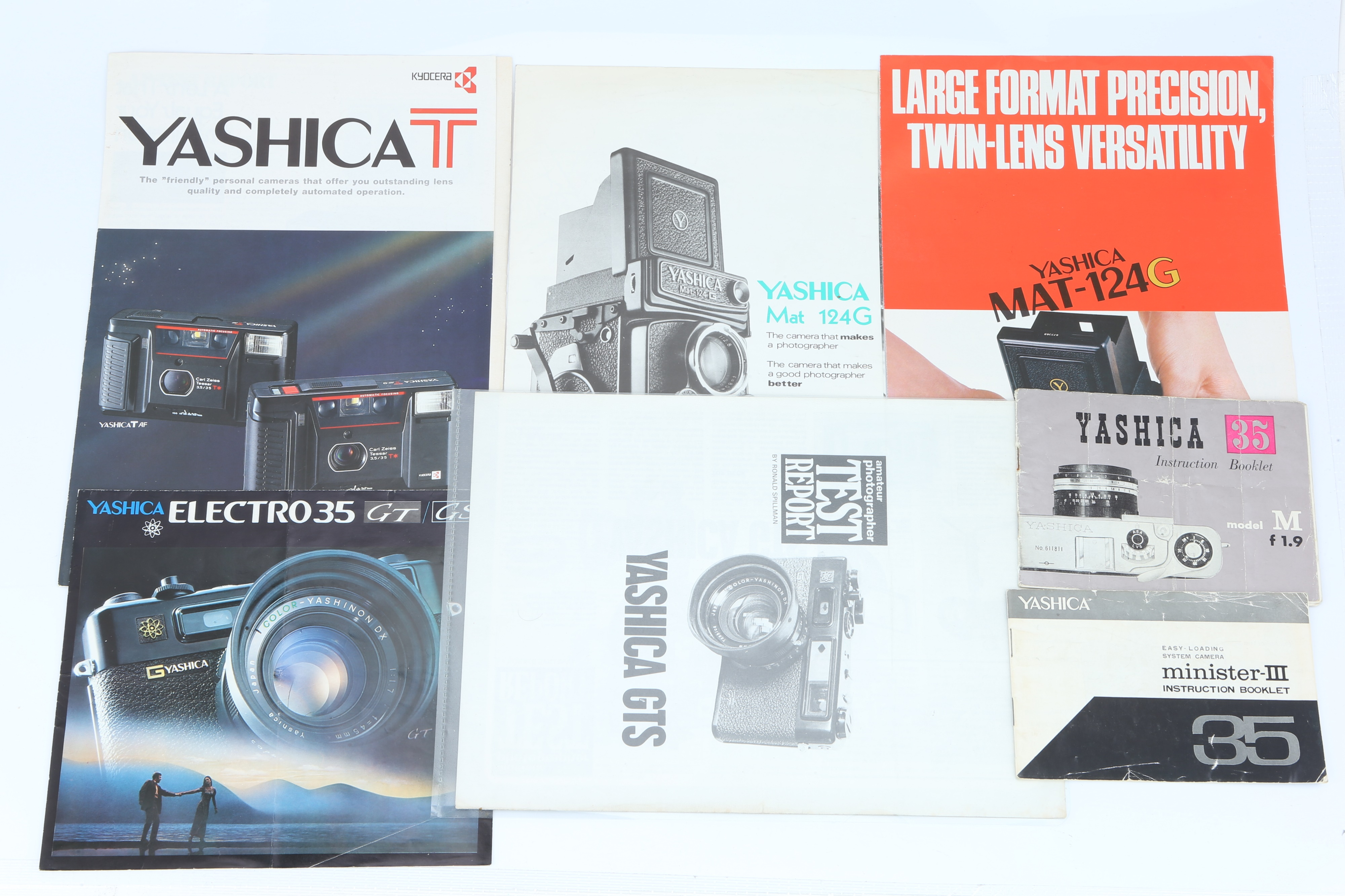 A Selection of Yashica Literature, - Image 2 of 3