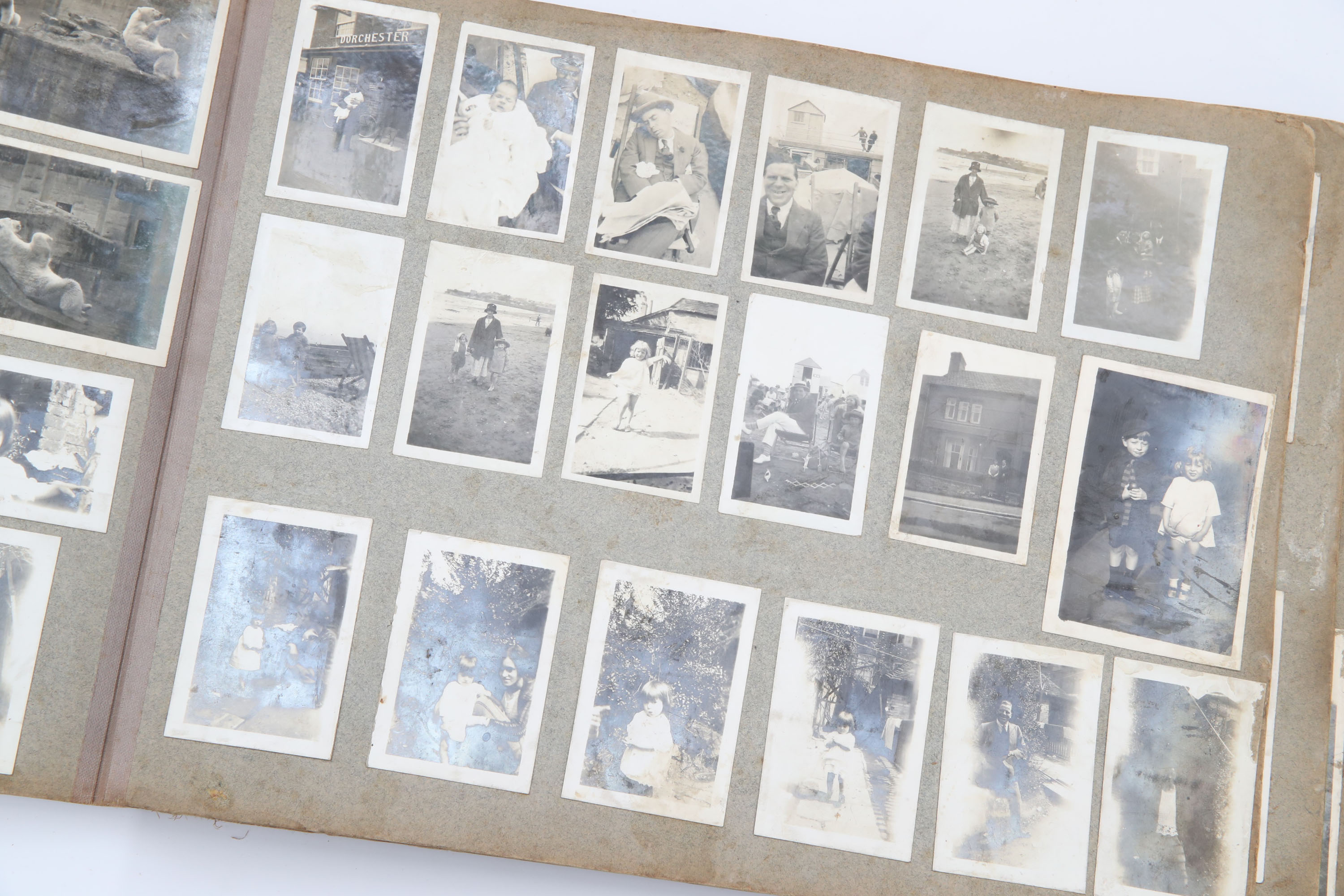 Inner Pages of a Family Photograph Album, - Image 3 of 4