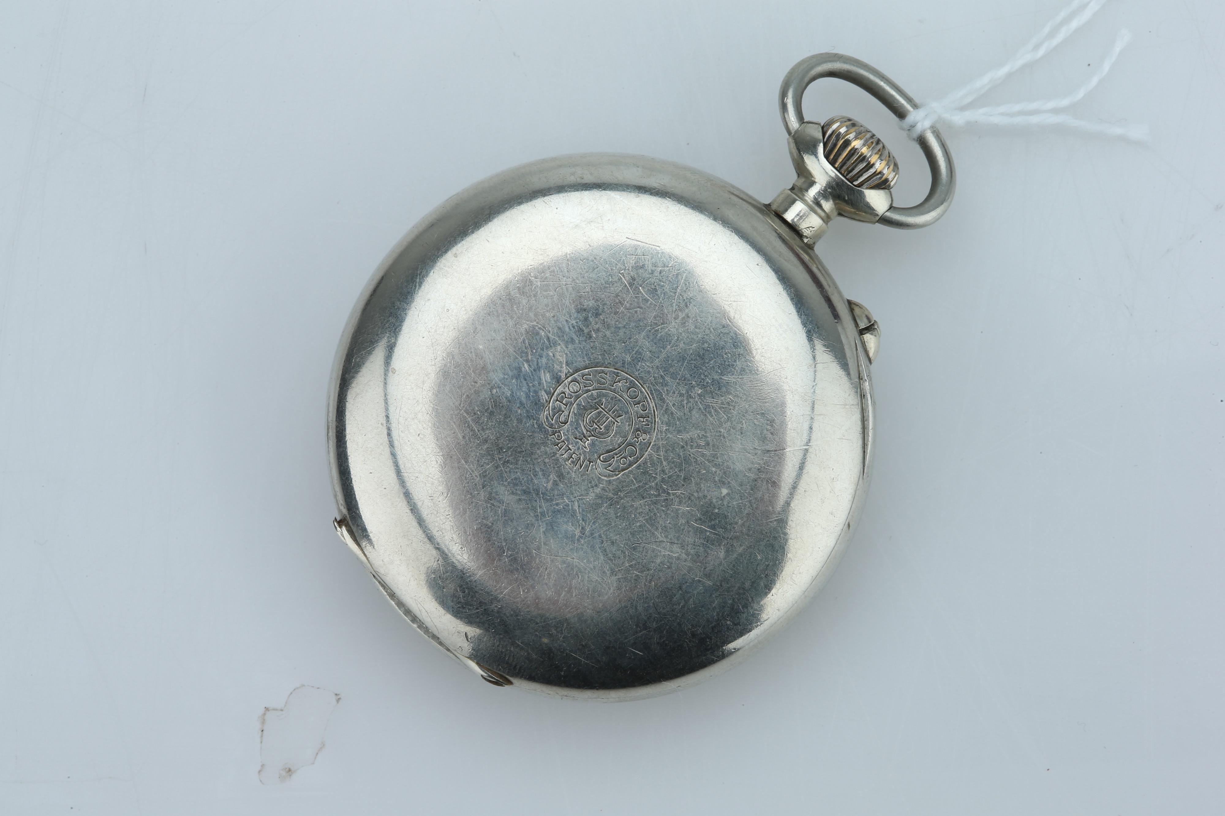 A Swiss Pocket Watch, - Image 3 of 4