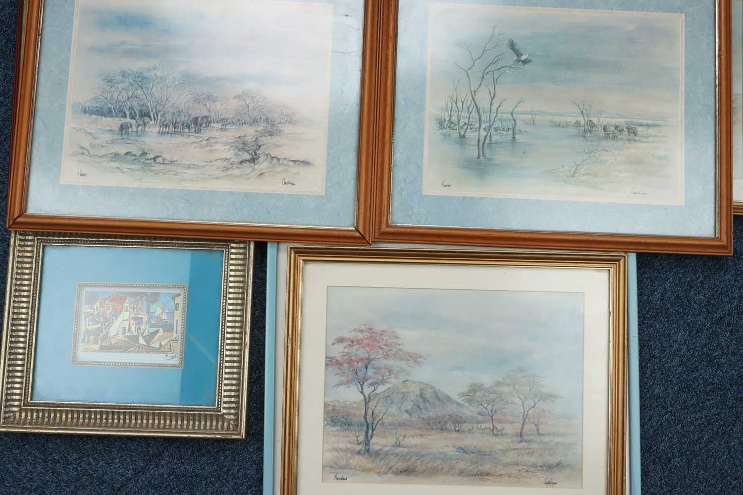 A Selection of Various Framed Prints, - Image 3 of 3