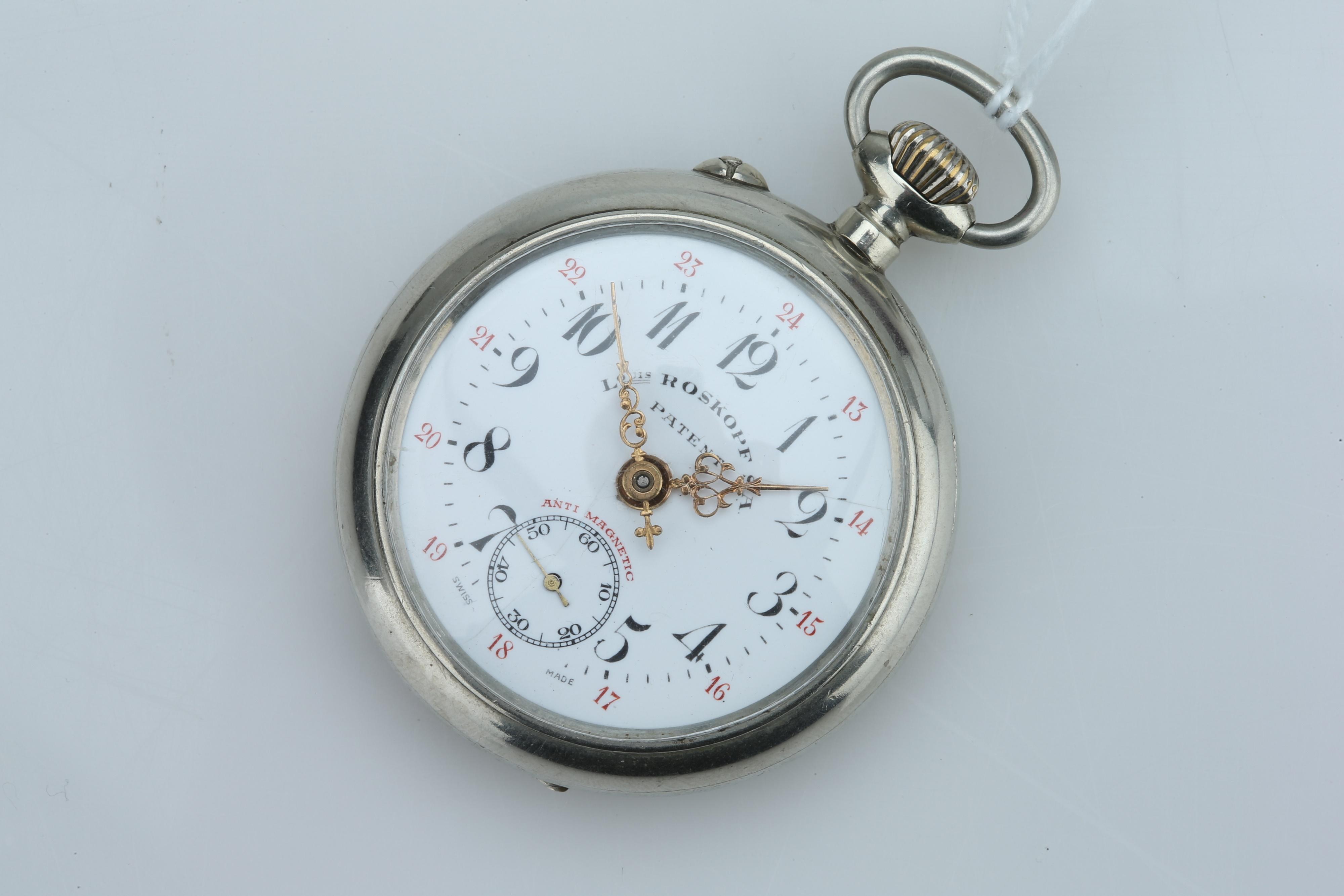 A Swiss Pocket Watch,