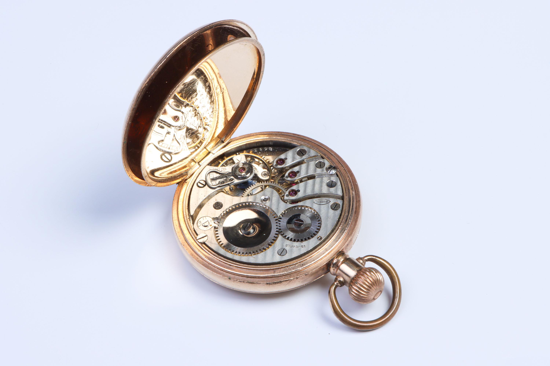 A Half-Hunter Pocket Watch, - Image 3 of 5