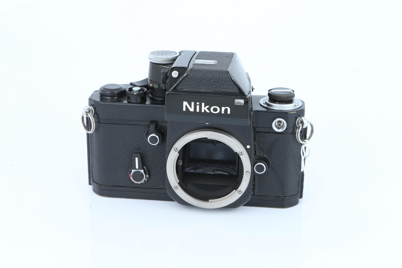 A Nikon F2 SLR Body,