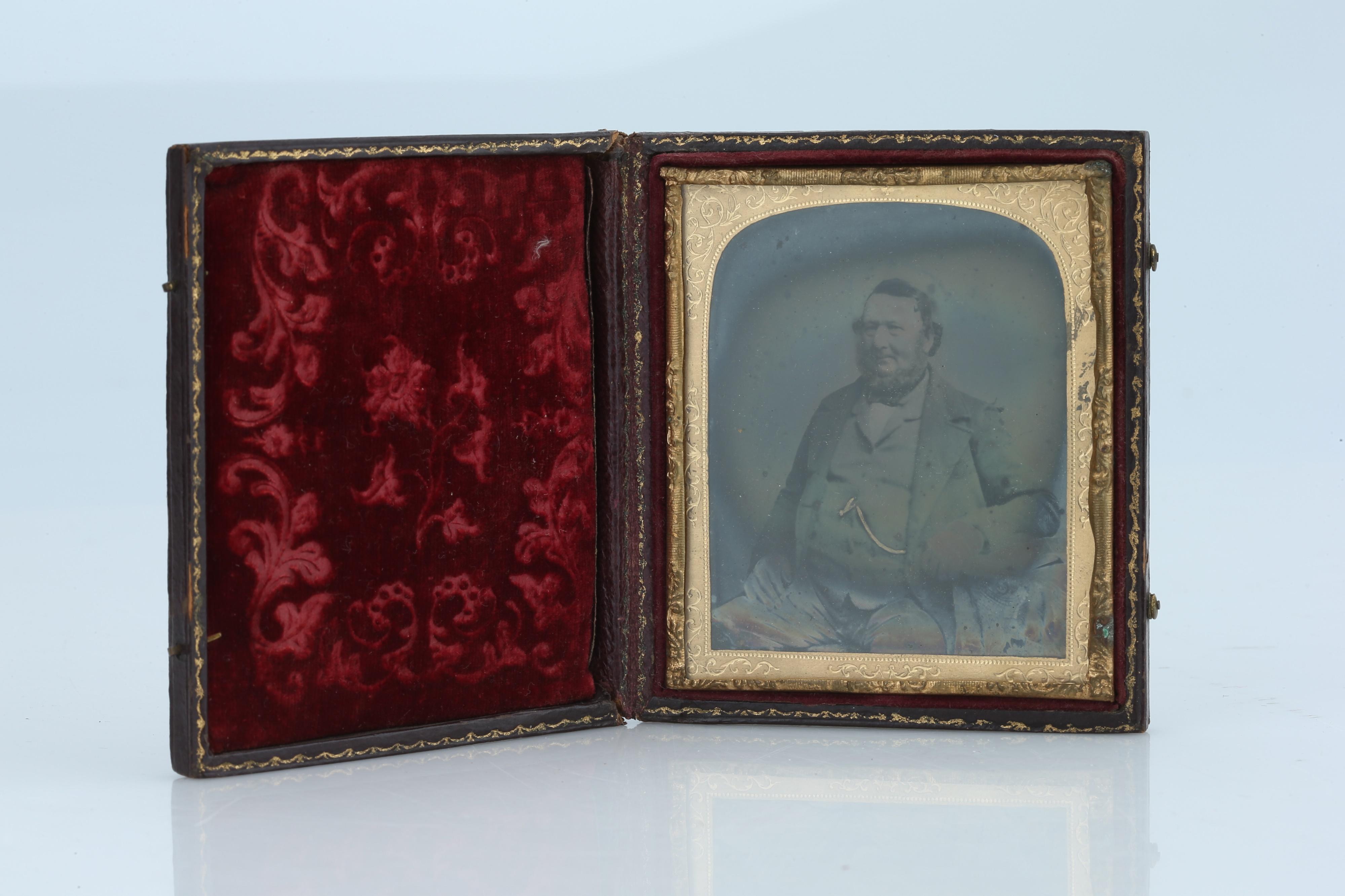 HIRAM CROMPTON BOOTH (1825-1890), An Opalotype Photograph, - Image 6 of 7
